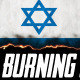 Burning Flag Israel - VideoHive Item for Sale