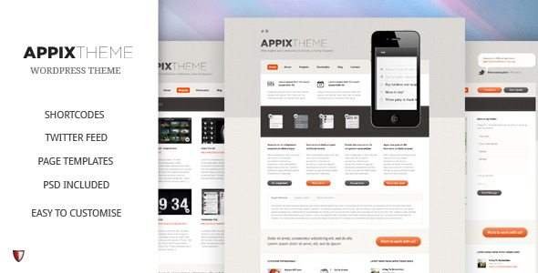 Appix WordPress Theme