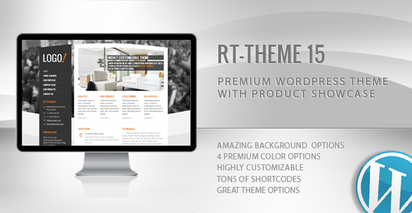 ThemeForest RT-Theme 15 Premium Wordpress Theme 781397