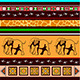 Ethnic Pattern with Elephants - GraphicRiver Item for Sale