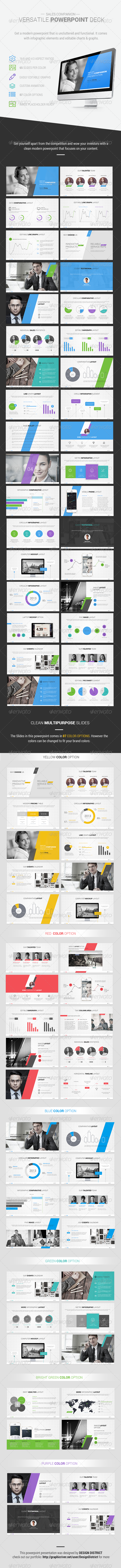 GraphicRiver Accentuate Powerpoint Presentation 7663452