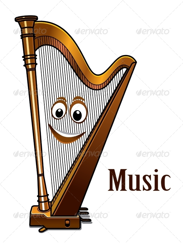 GraphicRiver Happy Harp 7664714