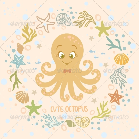 GraphicRiver Octopus 7665623