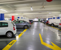 Underground parking lot with cars - PhotoDune Item for Sale
