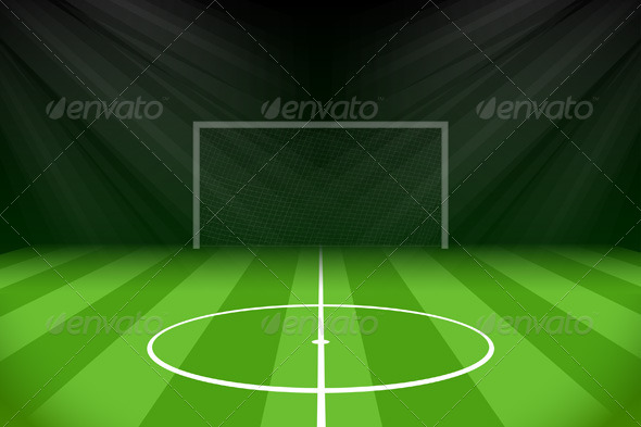 GraphicRiver Soccer Background 7666439