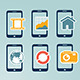 Mobile Device Icons - GraphicRiver Item for Sale
