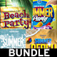 Summer-Beach Flyer Bundle - GraphicRiver Item for Sale