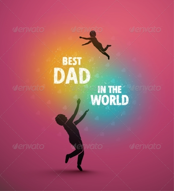 GraphicRiver Best Dad 7666835