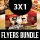 Horizontal Flyers Bundle - GraphicRiver Item for Sale