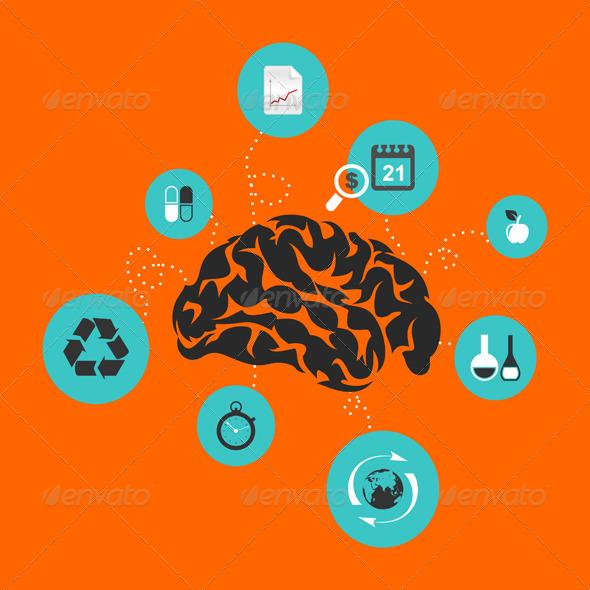 GraphicRiver Brain 7666980