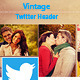 Vintage Twitter Header - GraphicRiver Item for Sale