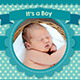 Baby Announcement Template - Vol.1 - GraphicRiver Item for Sale