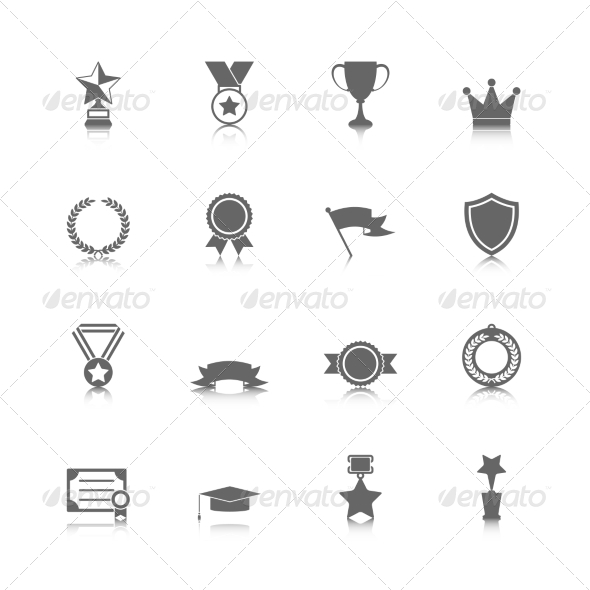 GraphicRiver Award Icons Set 7668193