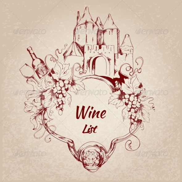 GraphicRiver Wine List Label 7668340