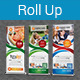 Multipurpose Business Roll-Up Banner Vol-17 - GraphicRiver Item for Sale