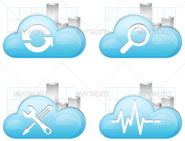 GraphicRiver High Performance Cloud Technology 7668444