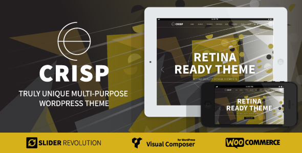 ThemeForest Crisp Multi-Purpose Wordpress Theme 7402952