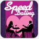 Speed Dating Love Valentines Flyer Template - GraphicRiver Item for Sale