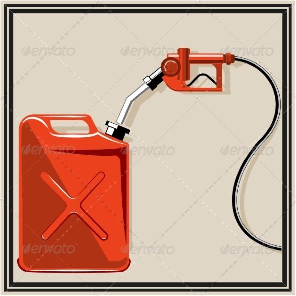 GraphicRiver Gas Pump Nozzle 7668816