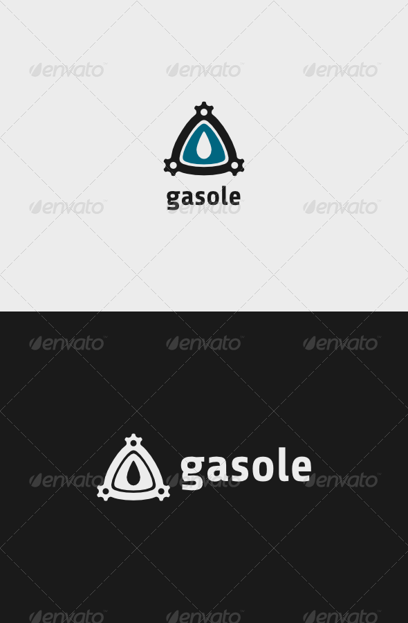 GraphicRiver Oil Gasole Logo 7669363