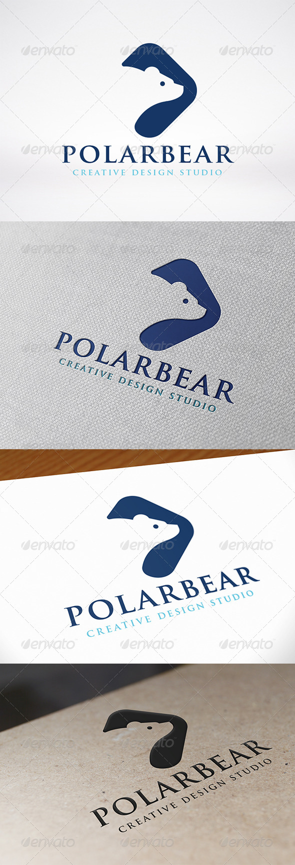 GraphicRiver Polar Bear Logo Template 7671631