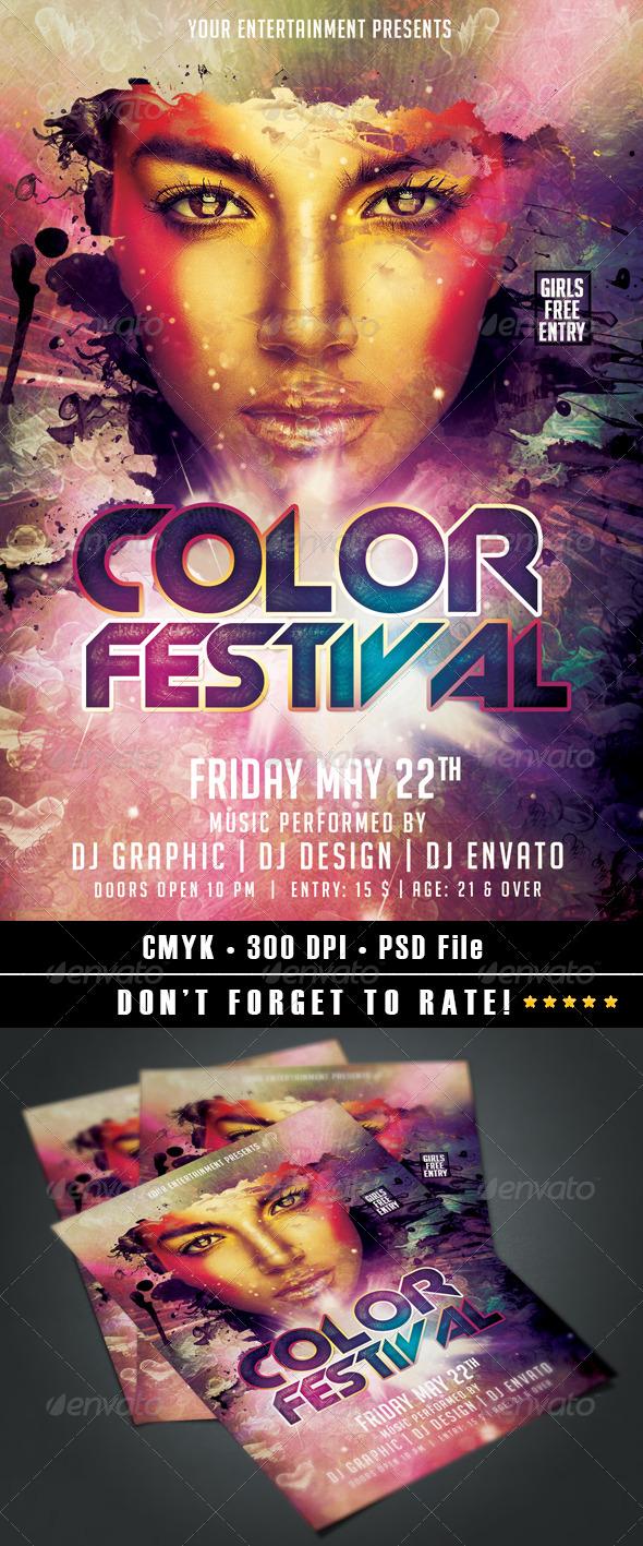 GraphicRiver Color Festival 7671654