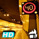 Speed Limit Signal in Tunnel - VideoHive Item for Sale