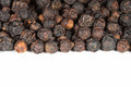 Black pepper on a white background - PhotoDune Item for Sale