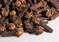 Pile of cloves (Eugenia caryophyllata). Macro - PhotoDune Item for Sale