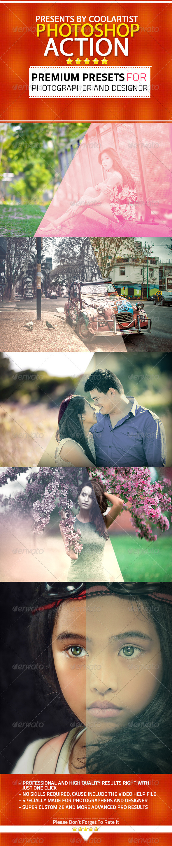 GraphicRiver Photoshop Cinematic Action Pack Vol 01 7672323