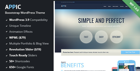 WordPress Technology Themes & Templates