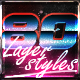 1980 Layer styles - GraphicRiver Item for Sale