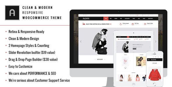 ThemeForest Aloma Multipurpose WooCommerce Theme 7509771