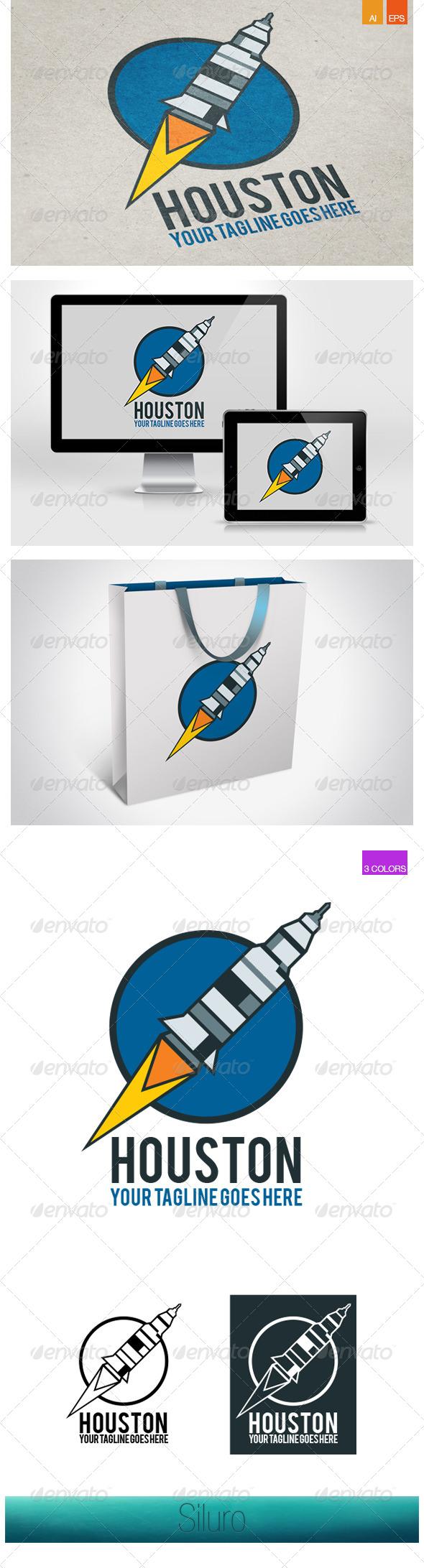 GraphicRiver Houston Logo 7673977