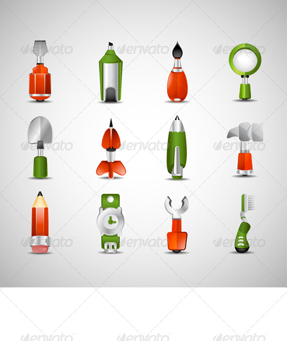 GraphicRiver Random Icons 7675307