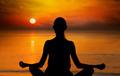 Woman Doing Yoga At Sunset - PhotoDune Item for Sale