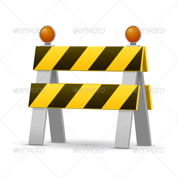 GraphicRiver Construction Barrier 7675478