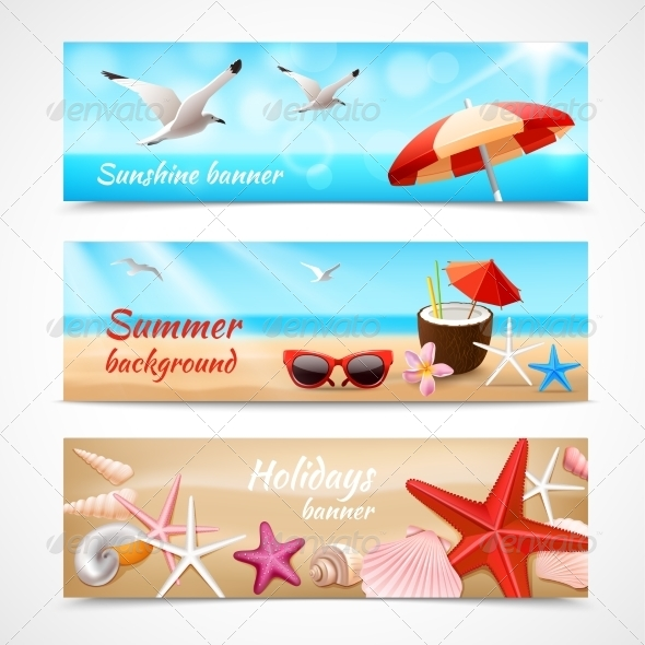 GraphicRiver Summer Holidays Labels 7675558