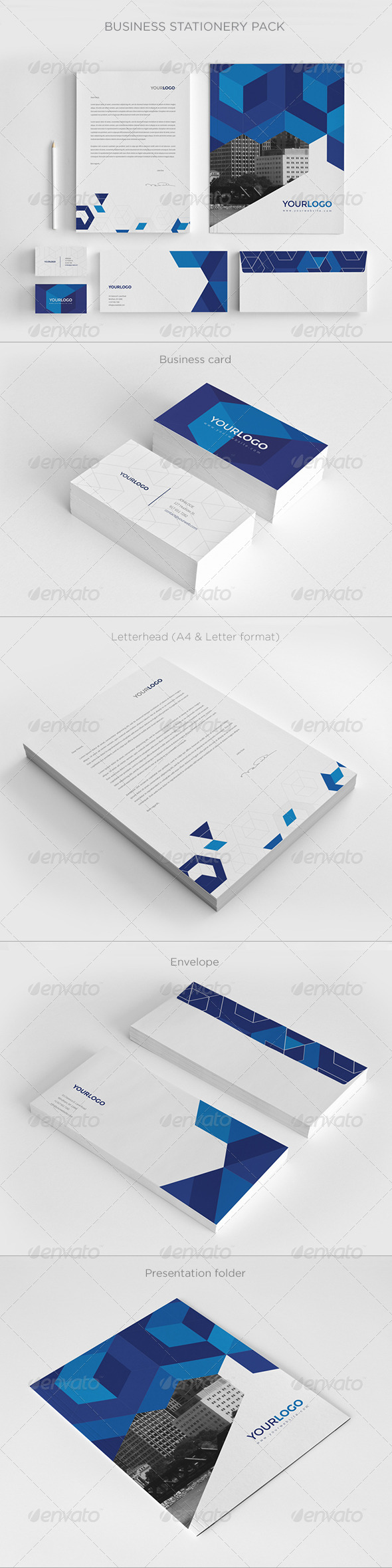 GraphicRiver Business Stationery Pack 7596178