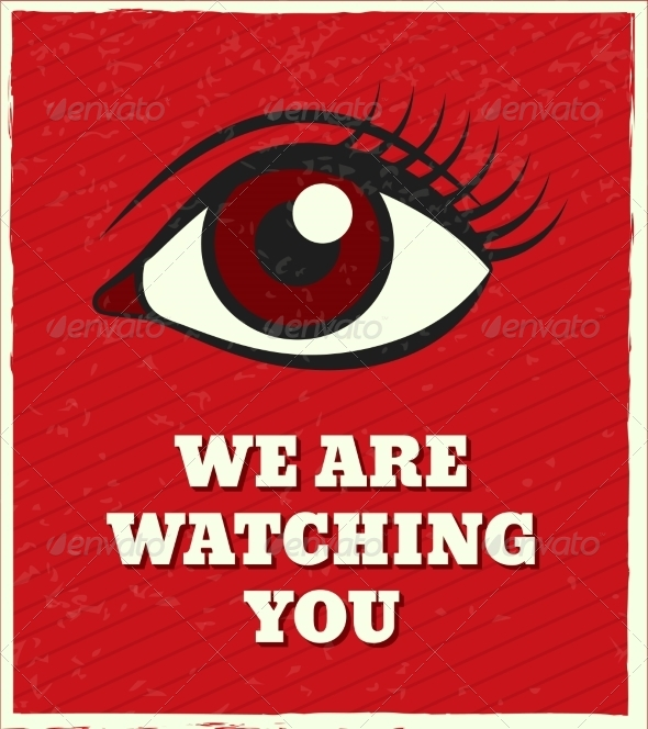 GraphicRiver Looking Eye Poster 7675634