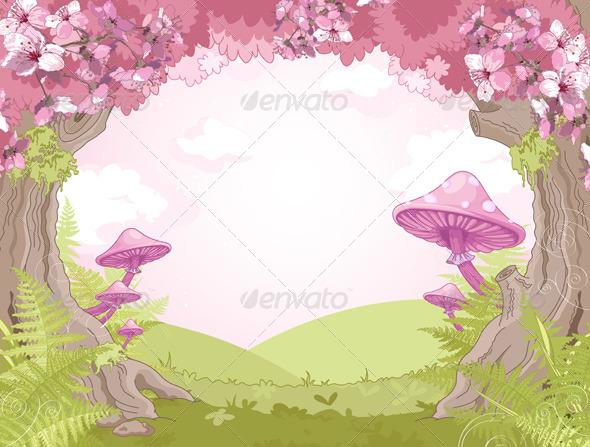 GraphicRiver Fantasy Landscape 7676059