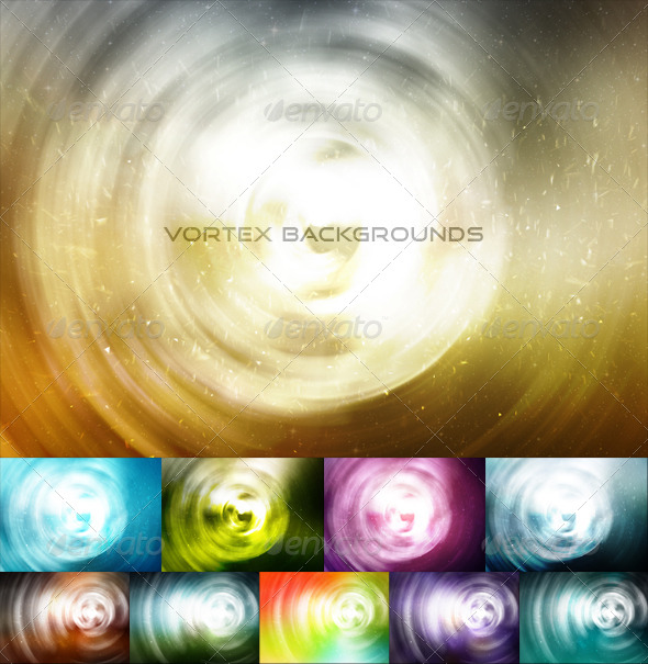 GraphicRiver Vortex Backgrounds 7676064
