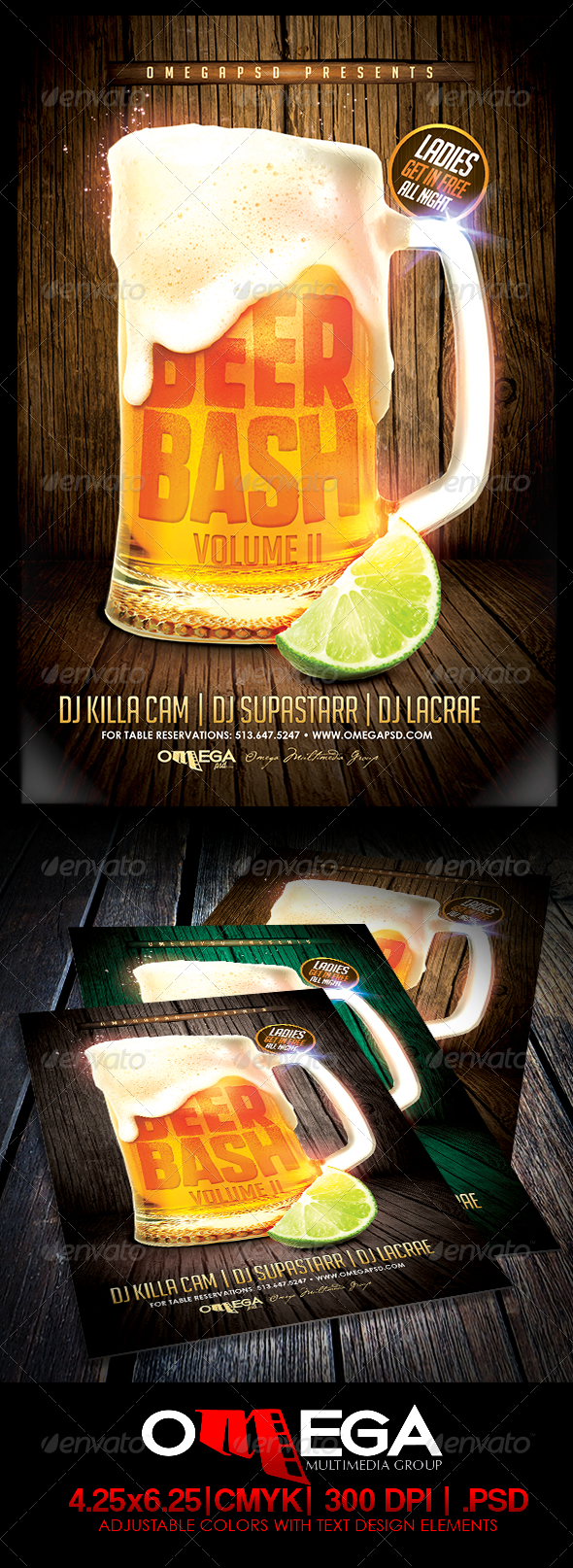 GraphicRiver Beer Bash Vol.2 7676575