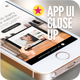 App UI Close-Up Mock-Up 5s White - GraphicRiver Item for Sale