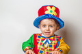 Child in clown suit - PhotoDune Item for Sale