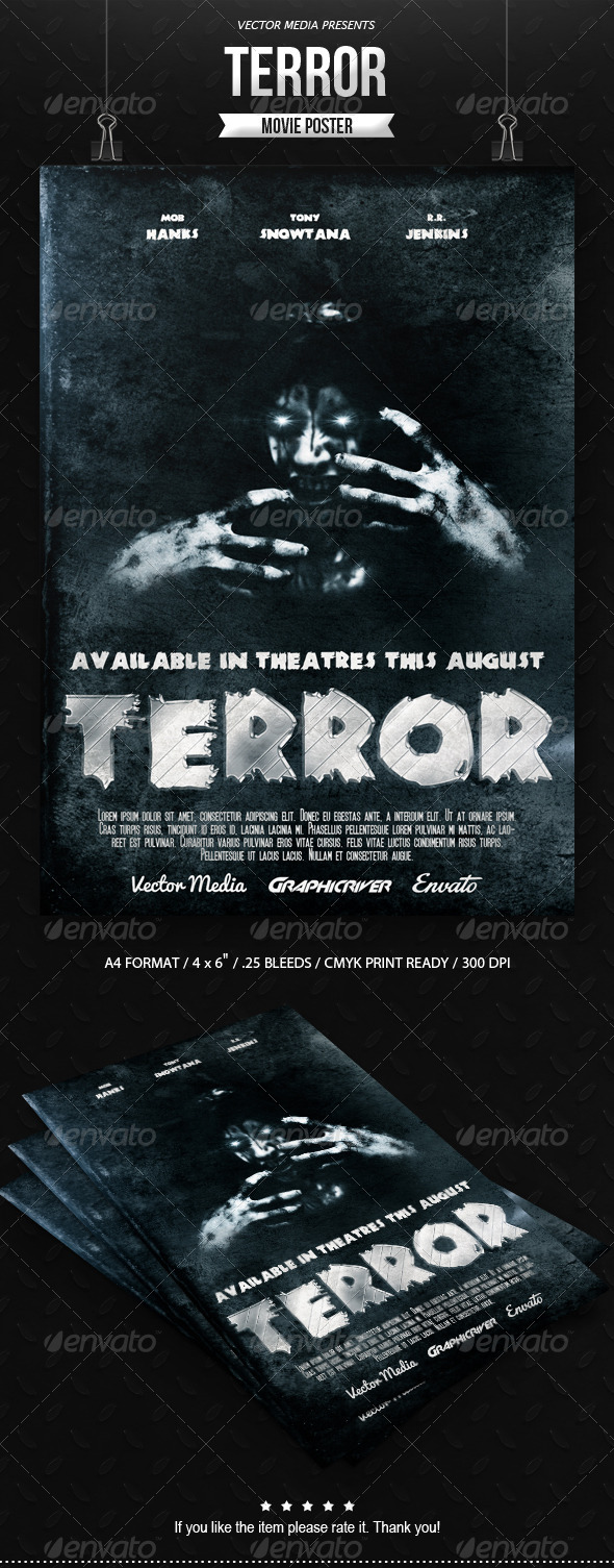 GraphicRiver Horror Movie Poster [Vol.3] 7679460