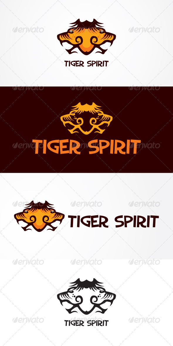 GraphicRiver Tiger Spirit Stock Logo Template 7680764