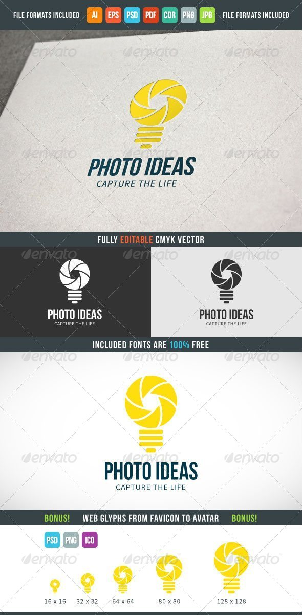 GraphicRiver Photo Ideas Logo Template 7614939