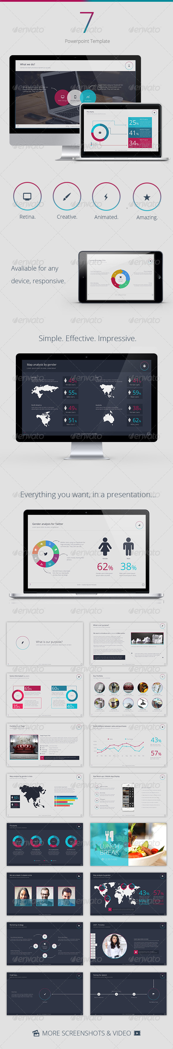 GraphicRiver Se7en Powerpoint Template 7669391