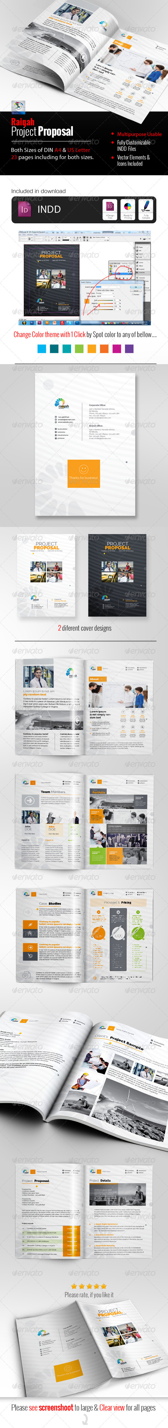 GraphicRiver Raiqah Clean Proposal 7681968